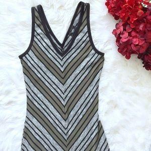 Mossimo • Double Vee Chevron Midi Dress